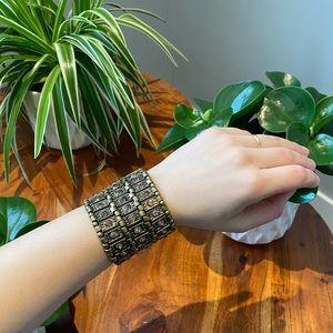 Copper Faux Stone Bracelet